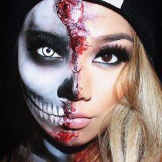 Halloween makeup! Yas