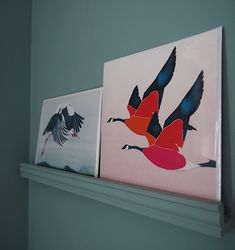 Greeting cards by Anna Jacobs - - find them in her pop-up in Heals, Tottenham Court Road. Anna Jacobs, Quirky Home Decor, Discovery, Rooster, Give It To Me, Greeting Cards, Spring, Gifts, Interiors