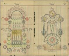 Creative Sketchbook: Antiqued Geometrical Patterns by Louise Despont