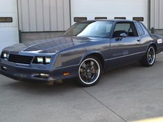 built 1987 monte carlo ss | Ridetech's LS-Powered Monte Carlo SS Test Car