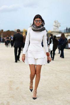 Como hoje é sexta, separei vários looks na cor branca para todo mundo se inspirar!!! Fotos: Reprodução