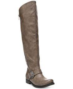 Carlos by Carlos Santana Gramercy Wide Calf Tall Boots - Tan/Beige 8M