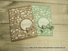 Make envelopes + Detailed Floral Thinlits Dies by Stampin Up (Part 2) - YouTube
