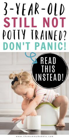Struggling to potty train your three-year-old? Do not panic! Here's everything you need to know about late potty training and why it's totally OK to not have yet ditched the nappies. How To Care Baby, Toddler Potty Training, Baby Sleep, Baby Baby, Toilet Training, Raising Boys, Three Year Olds, Parenting Hacks, Children