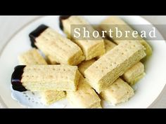 A simple shortbread recipe with just 3 ingredients. Just like walker's shortbread. Shortbread Cookie Recipe For cookies Ingredients 1 cup salted butter (if you use unsalted butter, add in 1 teaspoon salt. sugar 2 cups all-purpose flour 3 Ingredient Shortbread Cookie Recipe, Buttery Shortbread Cookies, Shortbread Biscuits, Shortbread Recipes, Cookies Et Biscuits, Shortbread Scottish, Easy Cookie Recipes, Baking Recipes, Scottish Recipes