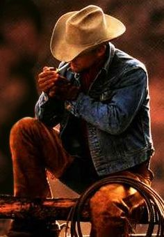 I blame the Marlboro man for my obsession with men wearing chaps