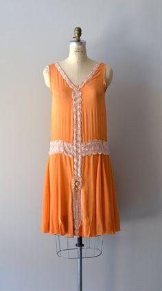 1920s dress / beaded 20s dress / Danse Mandarine dress. $425.00, via Etsy.