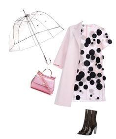 """""""rainy mood"""" by stylekaris ❤ liked on Polyvore featuring Paskal, Paul Smith, Dolce&Gabbana and Totes"""