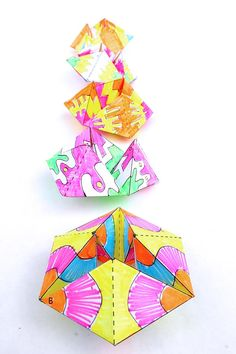 How to Make Amazing Flextangles - Babble Dabble Do Creative Activities For Kids, Creative Kids, Art Activities, Science For Kids, Creative Crafts, Projects For Kids, Steam Activities, Educational Activities, Paper Crafts For Kids