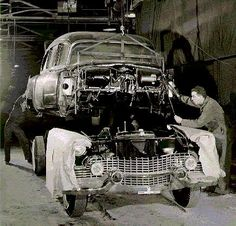 1954 Superior Hearse Factory