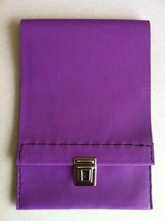 Purple leather slimline pencil £18.49
