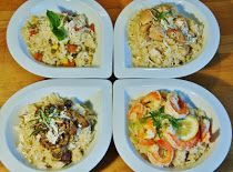 Italské rizoto 4 druhů Tacos, Mexican, Ethnic Recipes, Food, Essen, Meals, Yemek, Mexicans, Eten