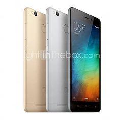 """Redmi 3S 5.0 """" MIUI Smartphone 4G (Double SIM Huit Cœurs 13 MP 3GB + 32 GB Doré / Argenté) de 5074318 2016 à €123.93"""