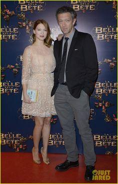 Lea Seydoux & Adele Exarchopoulos Reunite at 'La Belle et La Bete' Paris Premiere | lea seydoux adele exarchopoulos le belle et la bete prem...