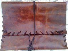Leather Whipstitch Ipad Case