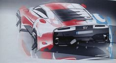 One of the initial sketches of BT 133 RS | Jedna z prvotních skic BT 133 RS