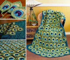 Resultado de imagem para manta de trico pavao