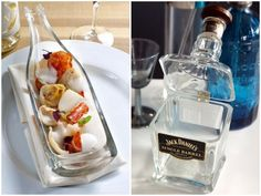garrafas de vidro recicladas