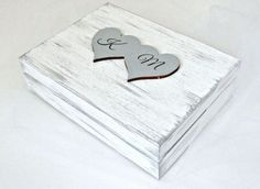 """Ślubne pudełko na obrączki """"SHABBY LOVE G"""""""