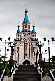 Incredible Pictures: Transfiguration Cathedral - Khabarovsk, Russia