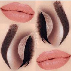 ♚♛нσυѕтσиqυєєивяι♛♚ Party Makeup Looks, Cute Makeup, Makeup On Fleek, Perfect Makeup, Silver Smokey Eye, Cut Crease, Makeup Tools, Makeup Stuff, Makeup Ideas