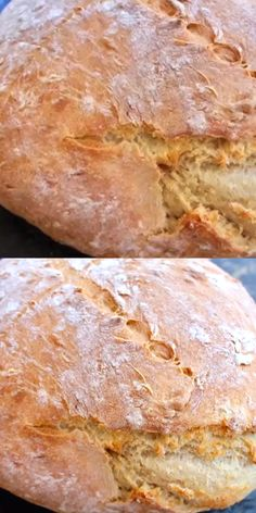 Easy, crusty vegan bread made with only 3 ingredients: flour, water and instant yeast. Easy, crusty vegan bread made with only 3 ingredients: flour, water and instant yeast. Quick Bread Recipes, Flour Recipes, Vegan Recipes Easy, Vegetarian Recipes, Cooking Recipes, Recipe For Vegan Bread, Italian Bread Recipes, Vegan Cheesecake, Cheesecake Recipes