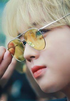 H, Mirrored Sunglasses, Strawberry, Kawaii, Kpop, Park, Strawberry Fruit, Parks, Strawberries