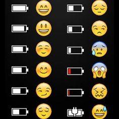 Fases de la bateria segun whatsapp jajaja #THINXacceosrios