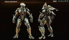 ArtStation - ForeRunner Warden - Halo 5, Jaemus Wurzbach