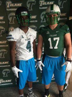 e5f4f82ac87 Chrome green masks for  GreenWaveFB  uniswag Football Uniforms