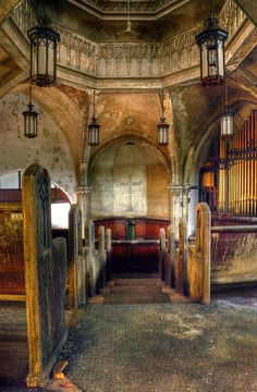 Abandoned church, Detroit, Michigan | by Timothy Neesam (GumshoePhotos)