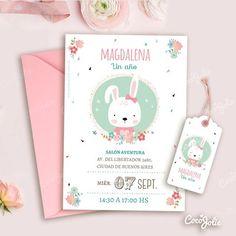 Rain of love. Bunny Birthday, Pink Birthday, Baby Girl Birthday, Birthday Cards, Birthday Ideas, Tarjetas Baby Shower Niña, Baby Farm Animals, Bunny Party, Paper Pop