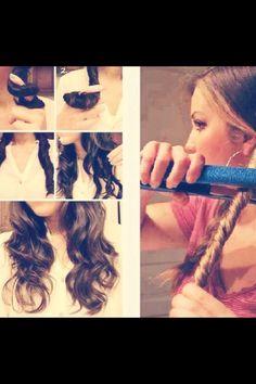 Summer beach wave hair!