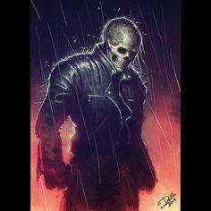Ghost Rider in Collectibles Marvel Comics Art, Horror Comics, Marvel Heroes, Marvel Characters, Ghost Rider Johnny Blaze, Ghost Rider Marvel, Comic Books Art, Comic Art, Sword Art Online