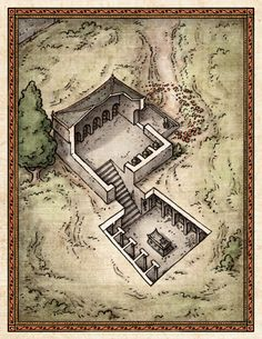 its a tiny dungeon....itty bitty