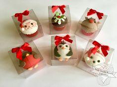 Christmas Cuties - individually boxed Christmas Cupcakes