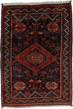 Lori - Qashqai Persian Carpet    unq2231-1073   CarpetU2   180x254