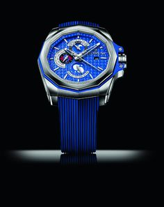 #Corum has been making watches for yachtsmen since 1960, when it debuted the first Corum Admiral's Cup watch, named after and inspired by the famous yacht race of the same name. The Admiral's Cup has since grown to become an entire collection, one of Corum's core pillars. Numerous variations on the Corum Admiral's Cup have been introduced over the years, including, at Baselworld 2014, the Corum Admiral's Cup AC-One 45 Tides.