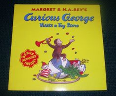 Curious George Visits a Toy Store (Paperback) Margaret & H. A. Rey