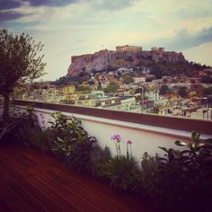 Be amazed by the spectacular 360 view at the Roof Garden of Electra Metropolis Athens! #electrahotels #athens #citylife #Greece