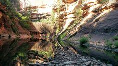West Fork of Oak Creek in Secret Mountain Wilderness Sedona AZ (OC)