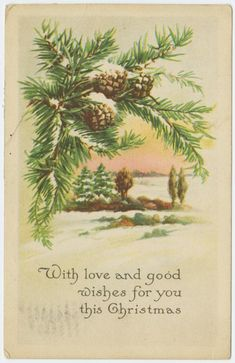 Image ID: 1586604  #1 Mid-Manhattan Library / Picture Collection With love and good wishes for you this Christmas. (191-)  Gibson Art Company -- Publisher