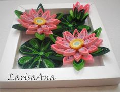 Fairy tale about quilling: Flowers