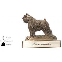 Plaque Dog Lover Gifts, Dog Lovers, Dog Supplies, Best Artist, Lion Sculpture, Statue, Dogs, Handmade, Bouvier Des Flandres