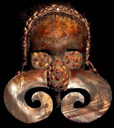Asmat ( New Guinea) Tribe Human Ancestor Skull