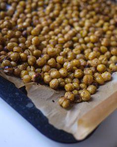 Se faire griller le pois chiche - pois chiches aux épices pour l'apéritif - Esterkitchen