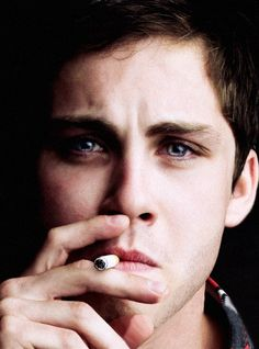 Logan Lerman 2013 | logan lerman smoking hot Logan Lerman 'My Mental Health Is Fine. But ...
