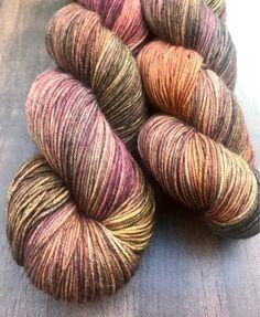 Sandalwood- Hand Dyed Nomad Superwash Merino and Nylon Sock Yarn by BlackCatFibersLLC on Etsy https://www.etsy.com/listing/536474148/sandalwood-hand-dyed-nomad-superwash