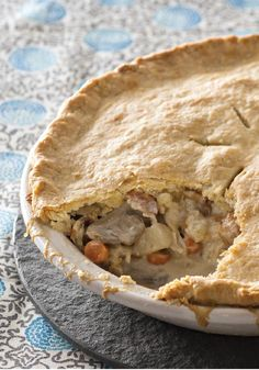 Chicken & Bacon Pot Pie – Chicken pot pie is nearly always a guaranteed win. Add bacon, and your odds are even better. Add a cream-cheese pie crust? That's a home run recipe for sure!