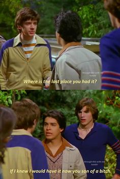 Fez That 70s Show, That 70s Show Memes, Thats 70 Show, Tv Show Quotes, Movie Quotes, Funny Facts, Funny Jokes, Eric Forman, Badass Aesthetic